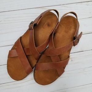 Chaco Wayfarer leather sandal